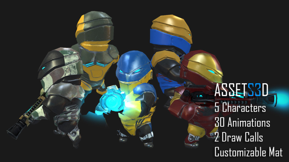 3D Future Soldiers